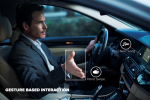 New in-car sensing tech increases vehicle and driver safety with better gesture control and monitoring