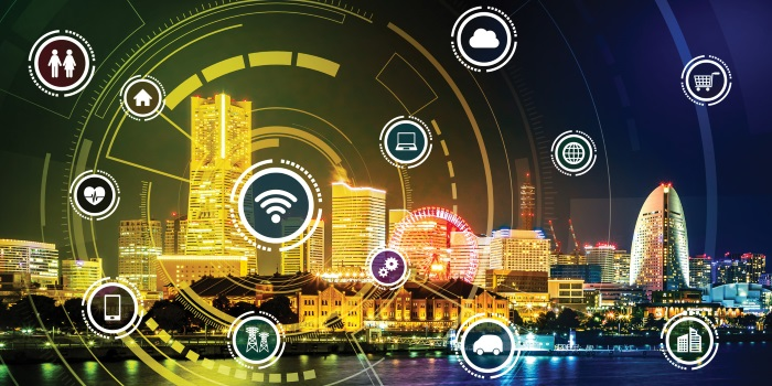 Image result for IOT city