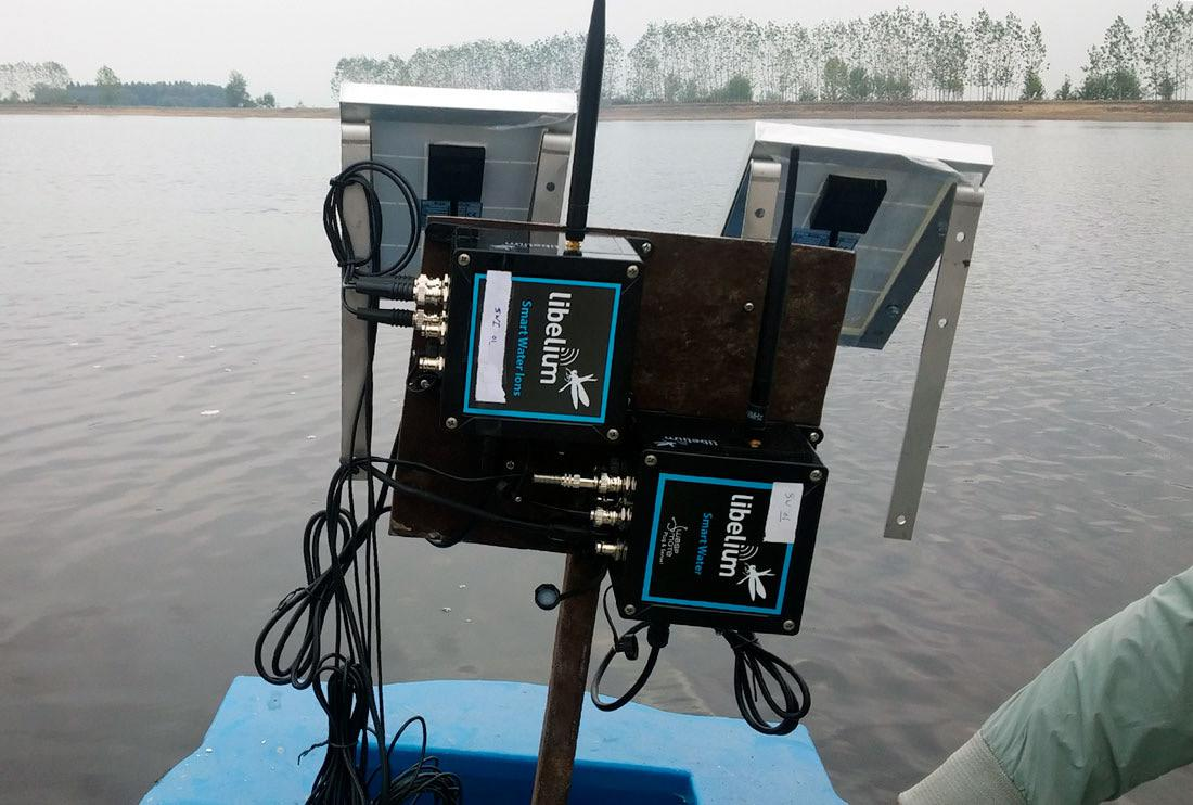 Controlling fish farms water quality with smart sensors in Iran