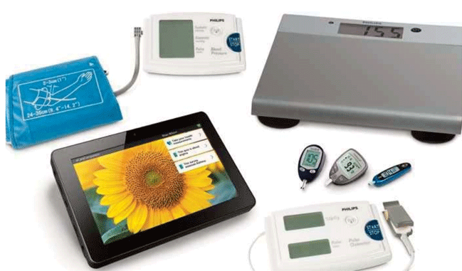 Philips Motiva mhealth devices