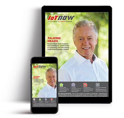 IoT Now magazine cover