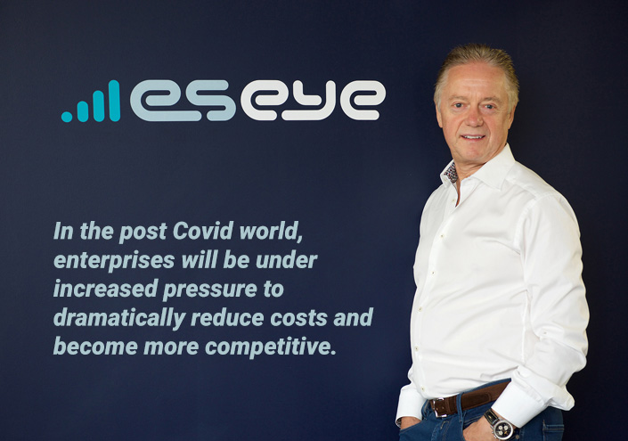 Nick Earle, chief executive, Eseye