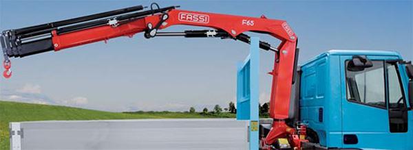 Fassi Gru's F65 Internet of Cranes
