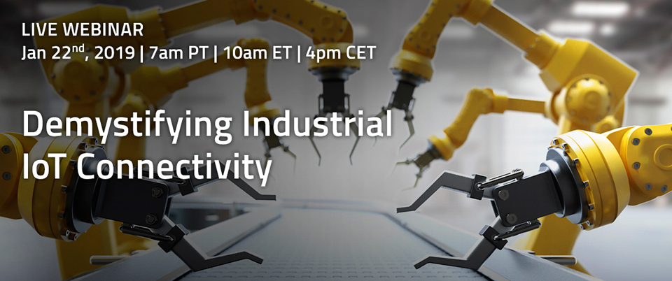 Demystifying Industrial IoT Connectivity